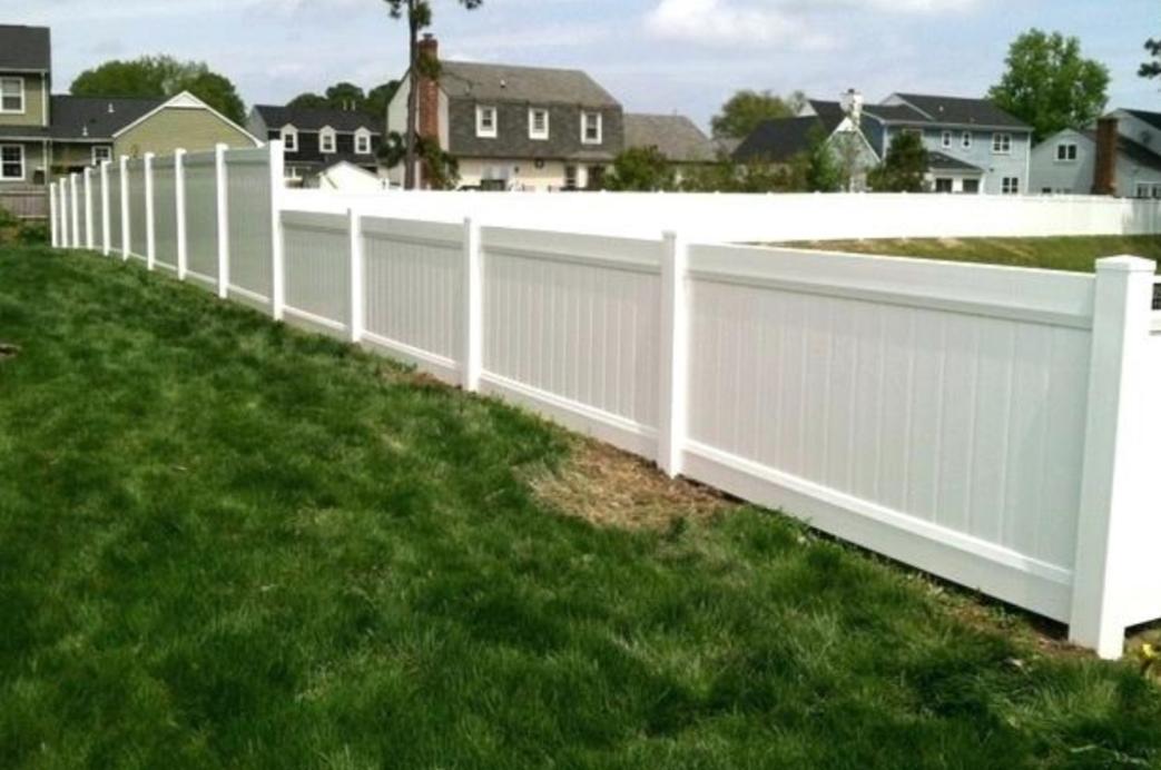 corpus christi pvc privacy fence styles